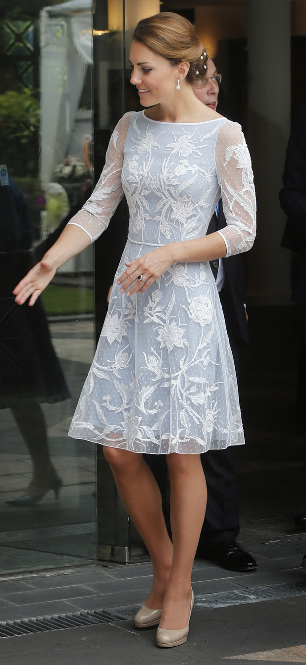 Duchess of Cambridge, a Diamond Jubilee Tea Party at the British High Commission in Kuala Lumpur