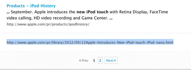 iPhone 5 'confirmed' in Apple web links
