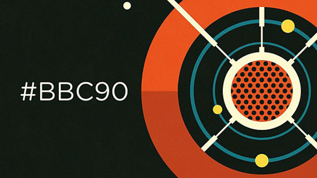 #bbc90  - promotional image to celebrate BBC Radio&#39;s 90th Anniversary