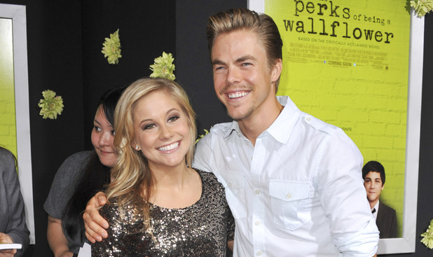 Shawn Johnson, Derek Hough The Los Angeles Premiere of 'The Perks of Being a Wallflower' at the ArcLight Cinerama Dome - Arrivals Los Angeles, California
