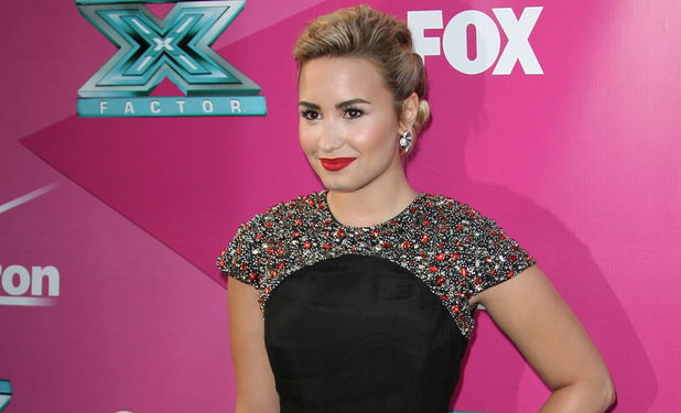 Demi Lovato The 'X Factor' Season Two Premiere Screening and Handprint Ceremony held at Grauman's Chinese Theater Los Angeles, California - 11.09.12Mandatory Credit: Adriana M. Barraza/WENN.com