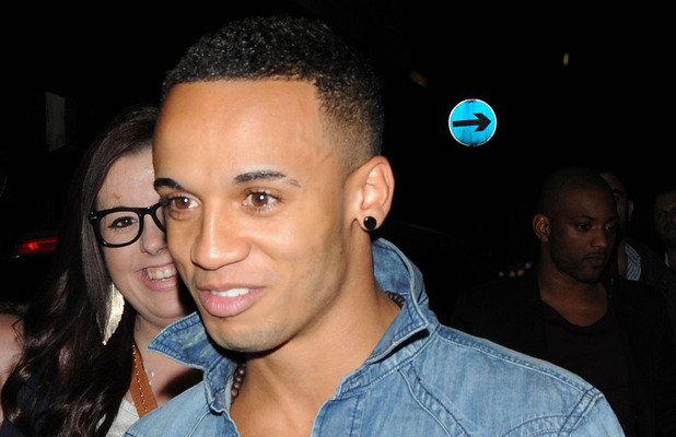 Aston Merrygold JLS leave the Rose Club London, England - 16.06.12 Credit Mandatory: WENN.com