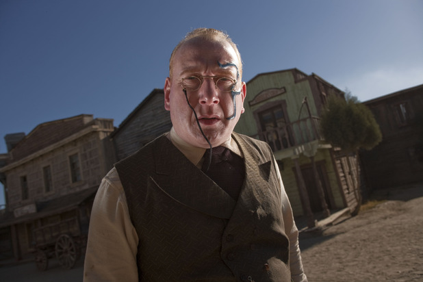 Doctor Who S07E03 - 'A Town Called Mercy': Kahler-Jex (Adrian Scarborough)