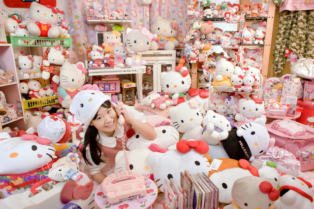 Hello Kitty memorabilia