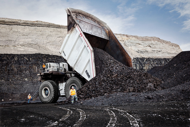 The largest mining truck