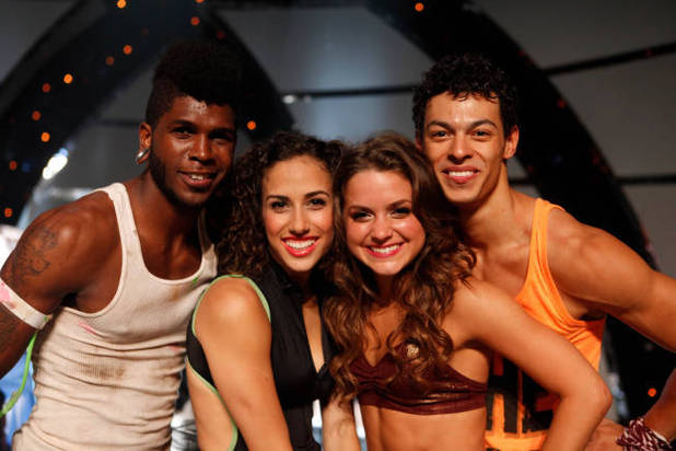 So You Think You Can Dance S09E14: Top 4 contestants Cyrus Spencer, Eliana Girard, Tiffany Maher and Chehon Wespi-Tschopp