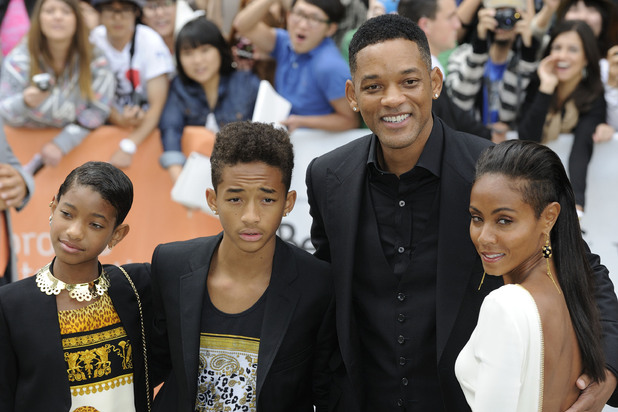Willow Smith, Jaden Smith, Will Smith and Jada Pinkett Smith  2012 Toronto Film Festival - 'Free Angela and All Political Prisoners' - Premiere