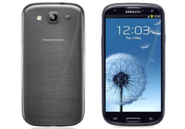 Samsung Galaxy S3 in grey