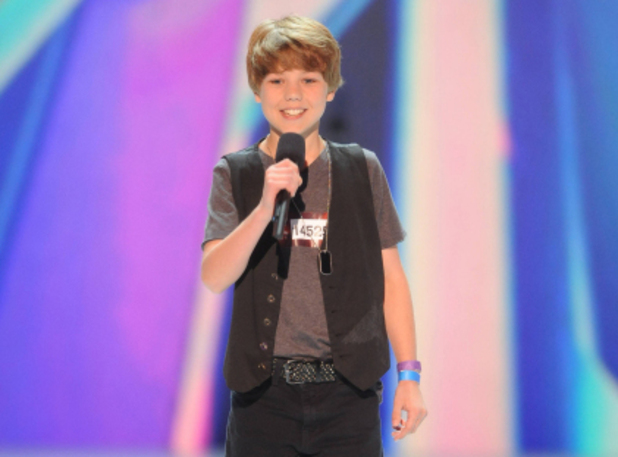 The X Factor USA S02E01: Reed Deming