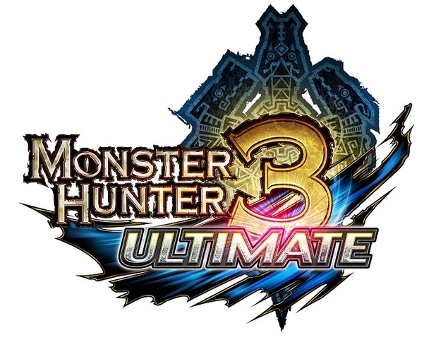 'Monster Hunter 3 Ultimate' logo