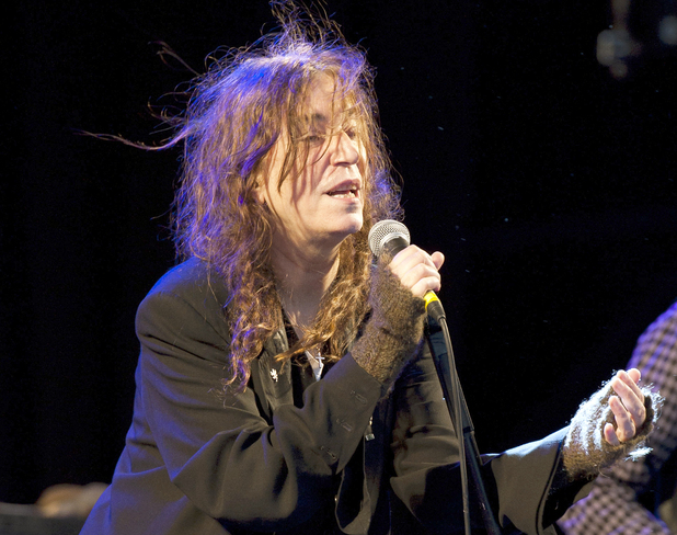 Patti Smith performs live on stage at 'End Of The Road' Festival - Larmer Tree Gardens, Dorset