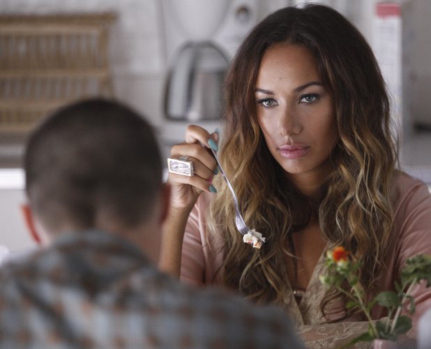 "Leona Lewis filming her new music video ""Trouble"""