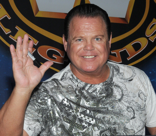 WWE star Jerry 'The King' Lawler photographed in March 2012