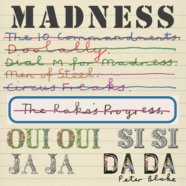 Madness &#39;Oui, Oui, Si, Si, Ja, Ja, Da, Da&#39; album cover
