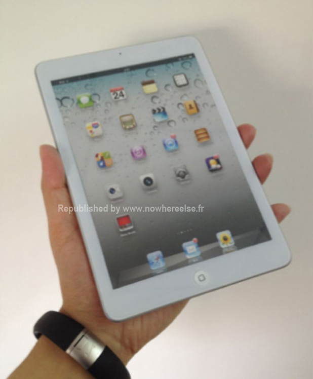 Apple iPad mini - leaked pictures