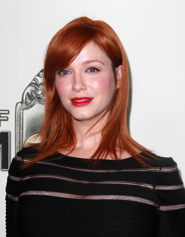Christina Hendricks 'The Book of Mormon' Opening night held at the Pantages Theatre - Arrivals Hollywood, California