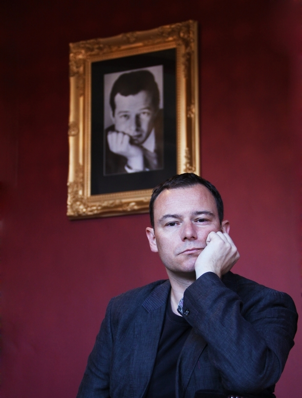 Andrew Lancel plays Brian Epstein