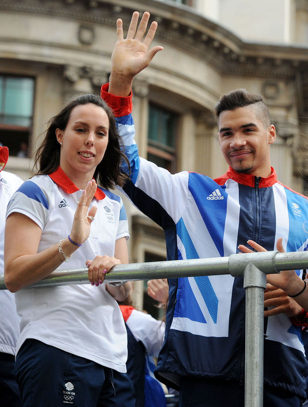 Beth Tweddle, Louis Smith, London 2012