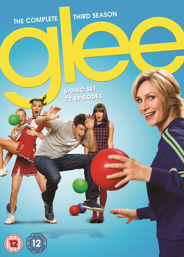 Glee season 3 DVD packshot