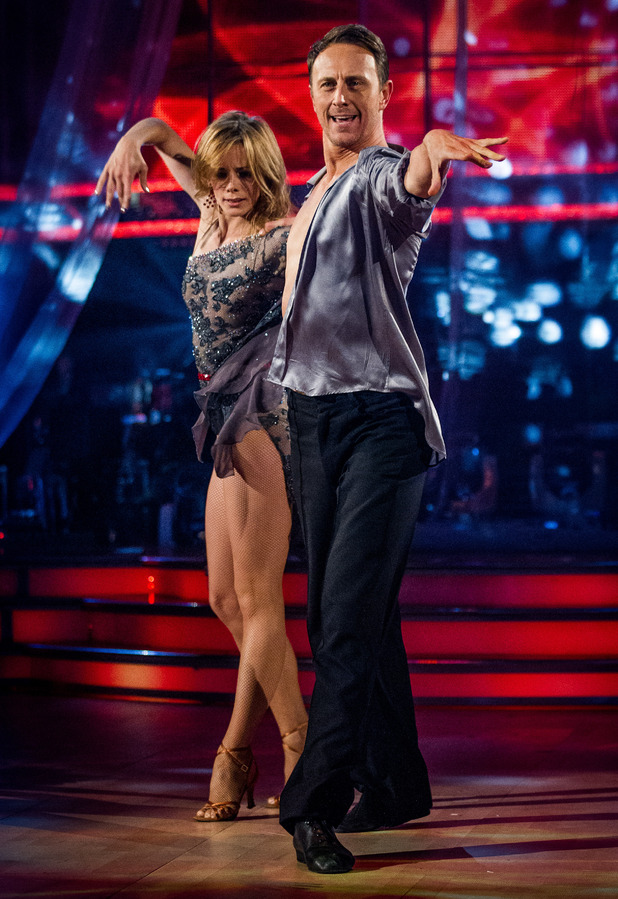 Darcey Bussell and Ian Waite