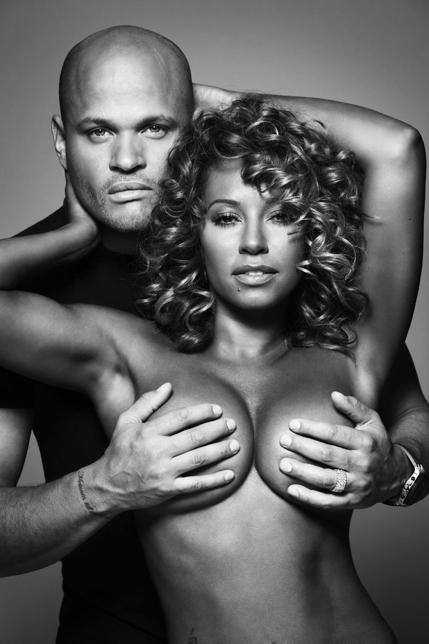 mel b strips for charity