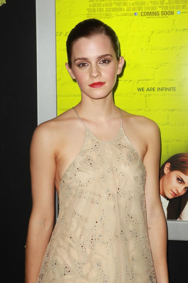 Emma Watson at the Perks of a Wallflower premiere