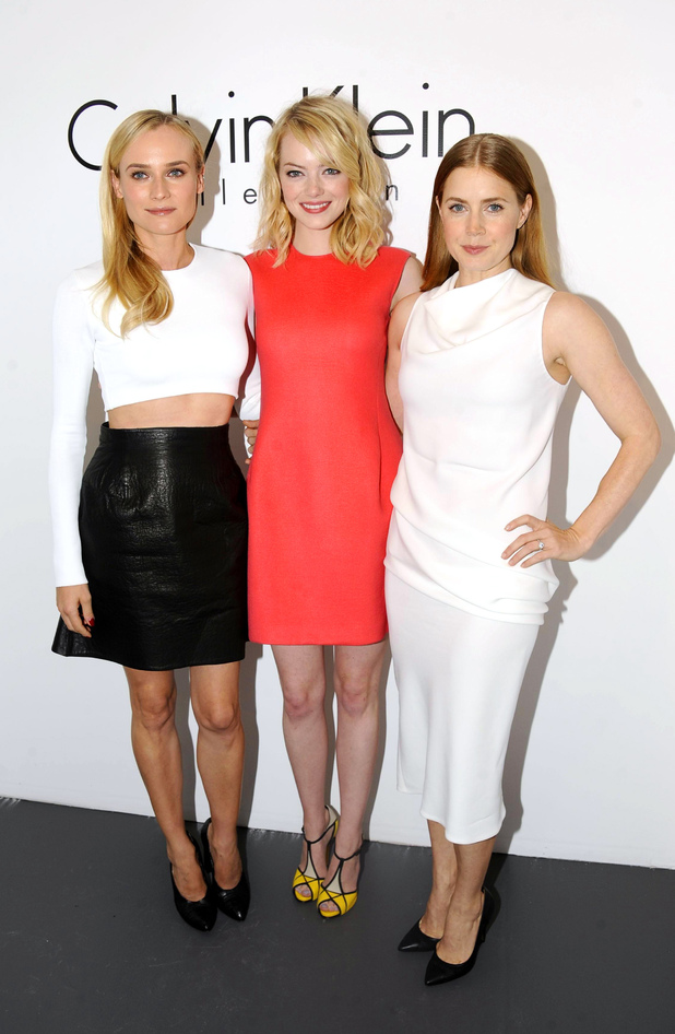 Diane Kruger, Amy Adams and Emma Stone