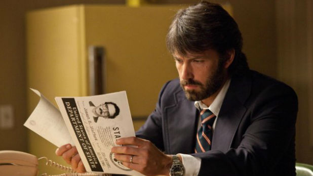 Ben Affleck directs Argo, a true-life story about a CIA team who fake a movie project in order to free six American hostages.