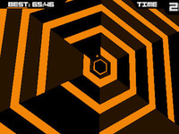 'Super Hexagon' screenshot