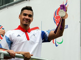 Louis Smith at London 2012 Olympic Parade