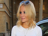Pixie Lott outside the BBC Broadcasting House & Radio Theatre for the Chris Moyles Breakfast Show London, England