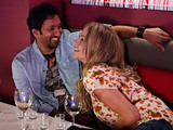 Roxy and AJ share a fun and flirtatious afternoon together.