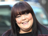 Lisa Riley outside the ITV studios London, England - 12.03.12 Mandatory Credit: WENN.com