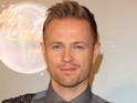 The singer claims that he was petrified on the Strictly launch show.