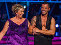 Fern Britton talks about her training for Strictly Come Dancing.