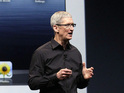 Apple boss earned $4.17m in 2012 compared to a total of $378m in 2011.