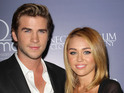 Cyrus sparked rumors the pair had tied the knot in a recent interview.
