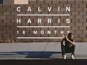 Calvin Harris &#39;18 Months&#39; album artwork.