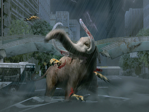 &#39;Tokyo Jungle&#39; screenshot