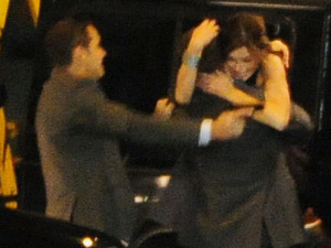 Hollywood stars Chris Pine and Keira Knightley shoot scenes for the upcoming Jack Ryan movie on location in Liverpool, England. Two sets have been built in Liverpool City Centre, including one recreating a Russian city and the other mimicking New York. Knightley appeared to be kidnapped in a car chase, before being rescued by co-star Pine after a shootout