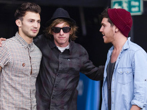The X Factor 2012 Bootcamp: Adam, Robbie and Jake