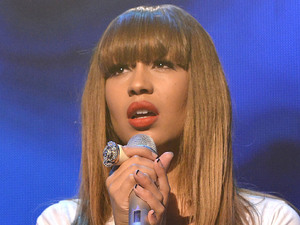 Rebecca Ferguson performing at the iTunes Festival at The Roundhouse London