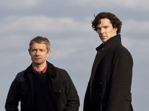 Sherlock and Watson in The Hound of the Baskervilles