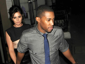 Cheryl Cole enjoys a late dinner with new beau Tre Holloway at Sumosan restaurant in Mayfair. The couple spent around 3 hours inside the restaurant, before leaving together in a chauffeur driven car. Cheryl appeared to be in great spirits, and there was no sign of the sling she was pictured wearing a few days before, as a result of a car accident she had while in Los Angeles. London, England - 04.09.12 Mandatory Credit  WENN.com