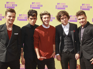 : Liam Payne, Louis Tomlinson, Niall Horan, Zayn Malik and Harry Styles of One Direction 2012 MTV Video Music Awards, held at the Staples Center - Arrivals Los Angeles, California - 06.09.12 Mandatory Credit: FayesVision/WENN.com