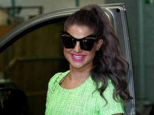 Kelly Osbourne at the ITV studios London, England - 18.09.12 Mandatory Credit: WENN.com