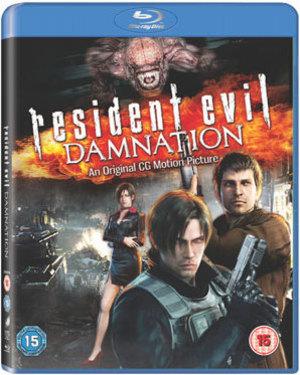 'Resident Evil: Damnation' Blu-ray packshot