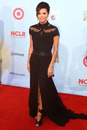 Eva Longoria 2012 NCLR ALMA Awards, held at Pasadena Civic Auditorium - Arrivals Pasadena, California