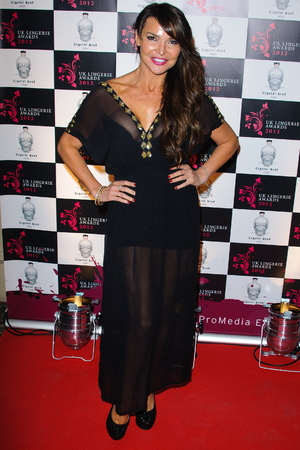 Lizzie Cundy The UK Lingerie Awards 2012 London