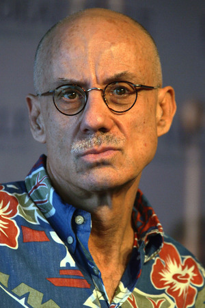 "U.S. writer James Ellroy poses during a photo-call to promote the film ""The Black Dahlia"" directed by Brian De Palma at the 32nd American Film Festival in Deauville, Normandy, France, Sunday Sept. 3, 2006."